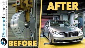 一卷钢板变成一辆宝马7系轿车需要经历怎么样的过程?