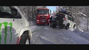 俄罗斯冰上丝绸之路(二) 尸骨之路遇险险翻车