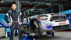 欣哲频道|中国首测 2012 MINI COUNTRYMAN WRC 赛车