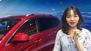 东风风行T5紧凑型SUV亮相北京车展,外观时尚