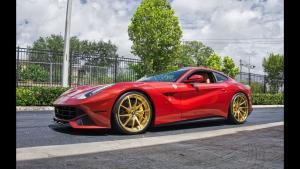 法拉利F12新一代V12动力,精雕细琢的车身造型