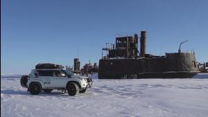 冰爽热播中 俄罗斯冰上丝绸之路极地穿越日记精彩短片