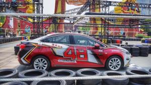 精彩!雪佛兰直通NASCAR2018极速之城合肥挑战赛