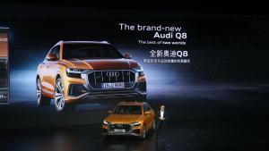 奥迪Q8在中国首发 正面对抗X6与GLE轿跑