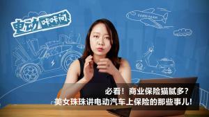 必看!美女珠珠为你讲解电动汽车上保险有啥不同?
