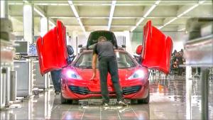 几百万的豪华超跑迈凯轮是这么生产出来的