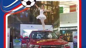 售10.6万起哈弗H4足球嘉年华年轻化思维玩转世界杯