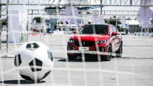 世界杯新玩法 开WEY新车与C罗同场PK