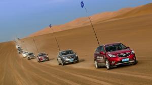 昂科威沙漠征服:气温44℃,挖了半小时沙,好玩吗?