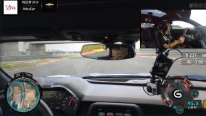 赛道试驾科迈罗SS,静静表示他比科尔维特难开多了!