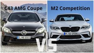 豪华品牌高性能小钢炮 宝马M2竞速版对比奔驰AMG C43