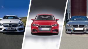 奔驰C级,宝马3系,奥迪A4L 入门级豪华B级车对比测试