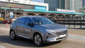 北京现代NEXO韩国试驾首曝光 自动驾驶模式太震撼!