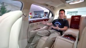 来试车04期 30万买LS460,就为一套豪华航空座椅?