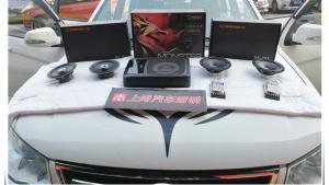 西安陆丰X8汽车音响改装卡顿久久不能忘怀
