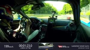 7分08秒34 迈凯伦720S纽博格林北环圈速达成