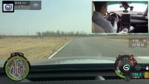 丰田亚洲龙超级评测赛道操控测试