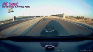 车速快很容易造成追尾事故