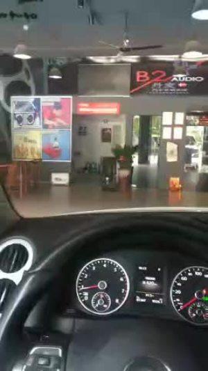 大众途观音响改装-华鑫汽车音响改装店