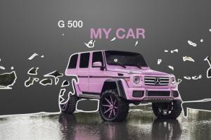 MY CAR 粉色大G 上