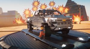 雪佛兰 Silverado 皮卡乐高 LEGO 大电影版广告