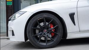 宝马3系F35改装德国TEI RacingP40S大四刹车套装