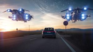 奥迪-holoride 车载VR系统演示