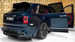 2020劳斯莱斯SUV库里南 曼索里改装版,无敌多么寂寞,售价1000万