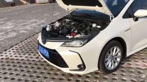 抢鲜看:全新一代丰田卡罗拉1.8L双擎混合发动机