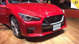 GT-R范儿十足 3.0T V6动力 日产Skyline新车首测