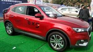 车展实拍2020款宝沃BX5,售价12.98万~15.58万的紧凑型SUV