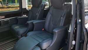 空间随便耍,奔驰V260L带来头等舱座椅
