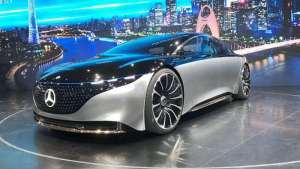 品鉴新豪华主义 广州车展体验奔驰Vision EQS
