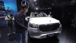 车展抢鲜看:最贵迈巴赫GLS600首发,全球每销售三辆,两辆在中国