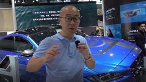 真豹力的英伦豹子 广州车展凹凸哥聊捷豹XE project 8 SV实车