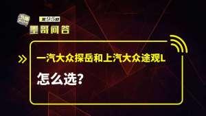 问答:一汽大众探岳和上汽大众途观L怎么选?