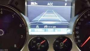 大众辉腾升级自适应巡航ACC路试案例分享