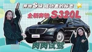 奔驰S级,成功者的标志!肉肉试驾全新奔驰S320L