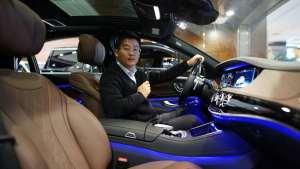 海路丰国际 奔驰S560豪车来袭 视频解读带您一览