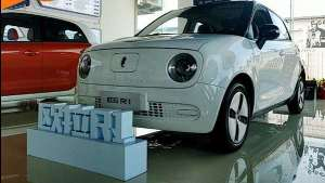 Q萌又实用的小型电动车 欧拉R1让利酬宾