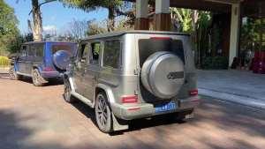 豪车抢鲜看:全新一代奔驰G级,小书包,硬派又有些可爱