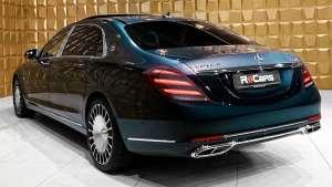 2020奔驰 迈巴赫S 560超豪华内饰和外观完美细节展示