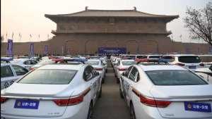 117辆吉利博瑞GE警务用车正式交付陕西省交警总队
