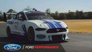 """福特""""超级""""野马!Mustang Supercar 亮相"""
