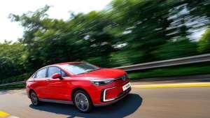 智慧出行新体验 试驾北汽新能源EU5 R550