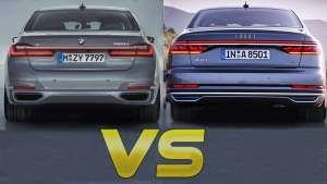 宝马7系vs奥迪A8看看谁是最豪华的国王轿车