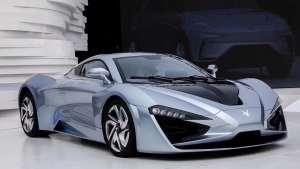 2.59秒破百 北汽新能源ARCFOX品牌两款新车亮相