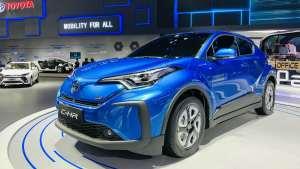 丰田C-HR EV亮相上海车展
