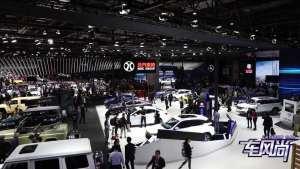 北汽新能源上海车展显领航者实力 新车EX3上市