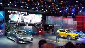 一汽-大众奥迪携旗下20余款明星车型震撼亮相上海车展